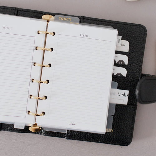 Lists Planner Inserts // Ring Planners // Original Collection
