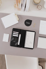 Load image into Gallery viewer, Pocket Agenda Set // Pocket Agenda Cover & Pocket Agenda Daily + Lists Notebook