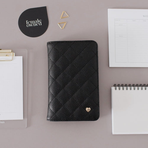Pocket Agenda Cover | Vegan Leather Planner