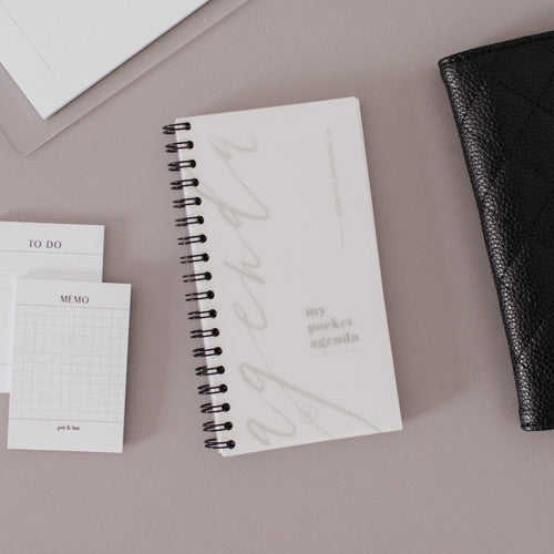 Pocket Agenda Notebook // Daily + Lists