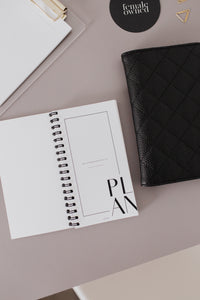 Pocket Agenda Set // Pocket Agenda Cover & Pocket Agenda Daily + Lists Notebook