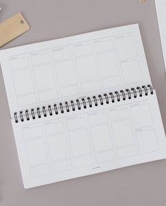 Desk Agenda Notebook // Weekly & Daily
