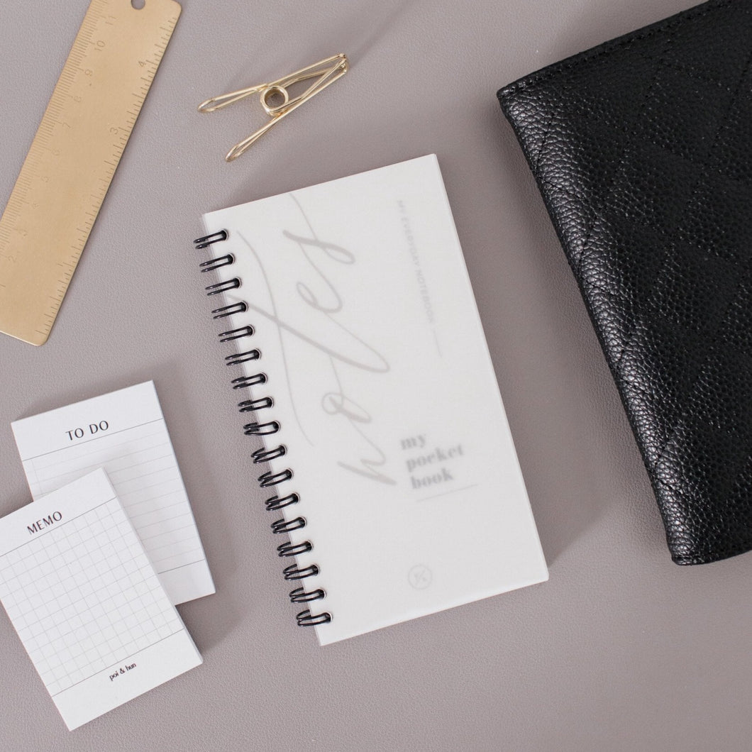 Pocket Agenda Notebook // Notes