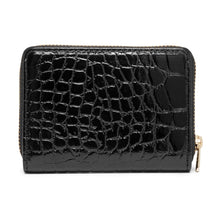 Load image into Gallery viewer, Purse Cow Suede Croco 13856