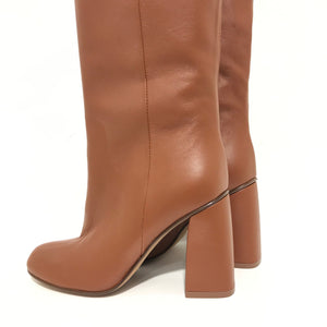 Brown Calf leather boot AC971