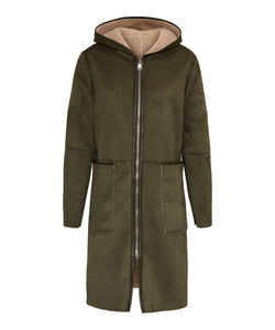 Adelyn coat Military green/Off White