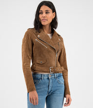 Load image into Gallery viewer, Mallory biker Cognac