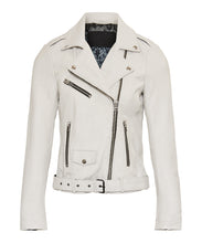 Load image into Gallery viewer, GC Pearl Biker off white with black