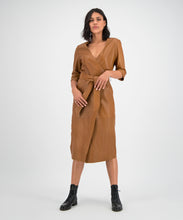 Load image into Gallery viewer, GC Zoë dress cognac