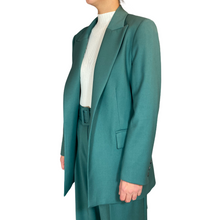Load image into Gallery viewer, Turquoise Long Blazer