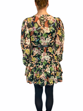 Load image into Gallery viewer, Short Flower Dress with belt