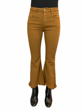 Load image into Gallery viewer, Fringe Camel Jeans