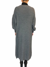 Load image into Gallery viewer, Long Mouse Grey Cardigan