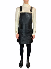 Load image into Gallery viewer, Texas Reworked Leather Dress