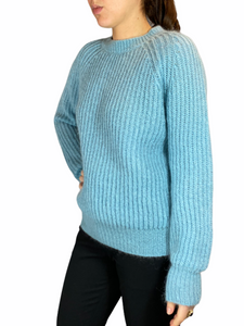 Baby Blue Oversized Pull