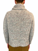 Load image into Gallery viewer, Multi Grey Turtleneck Alpaca blend