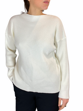 Load image into Gallery viewer, Plain White Knitwear