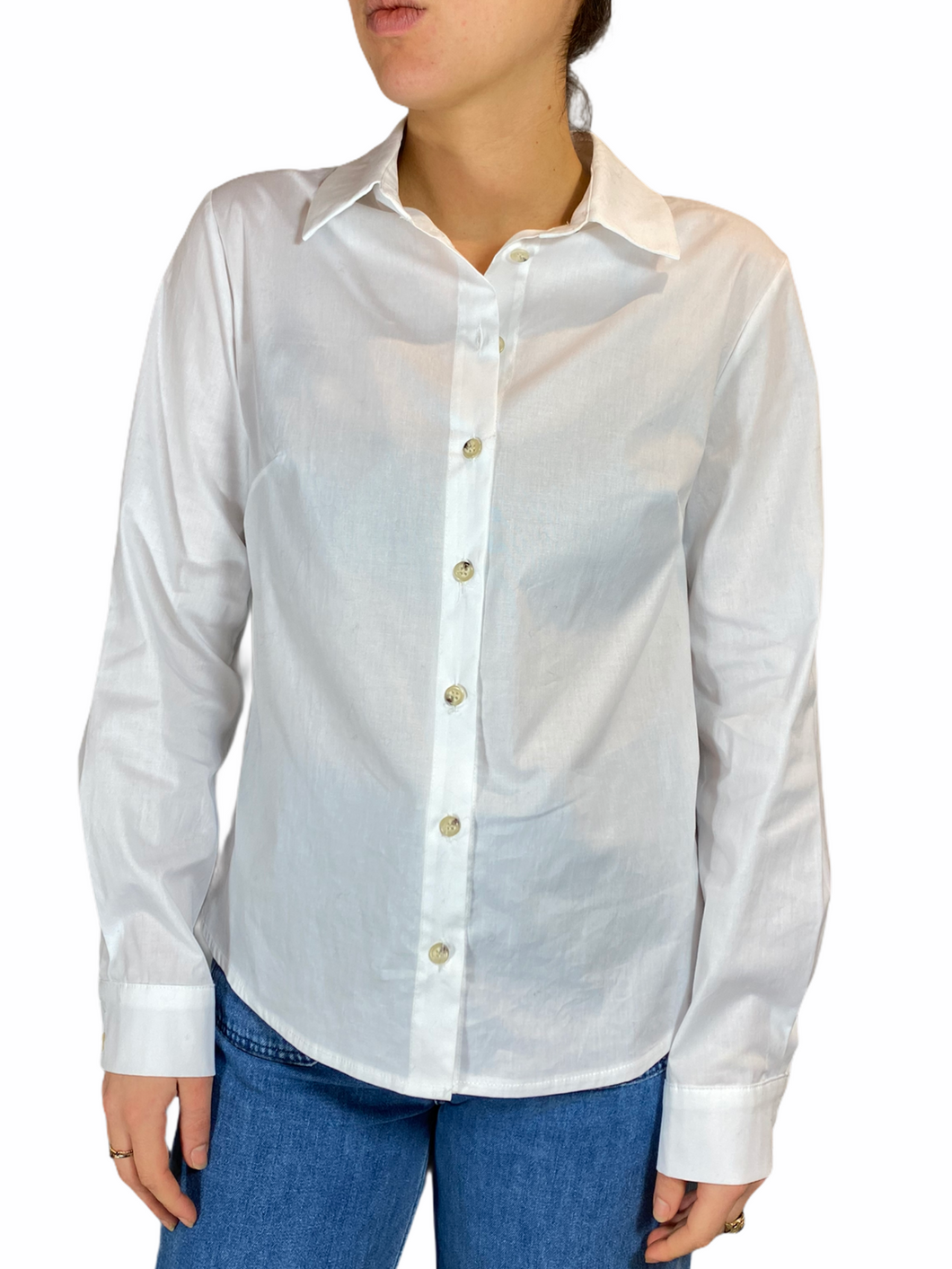 Basic White Blouse