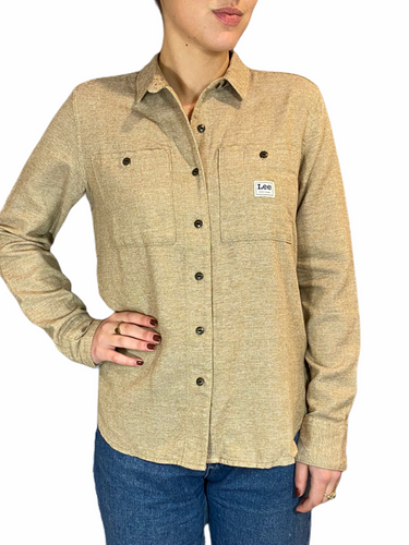 Worker Blouse Bleached sand