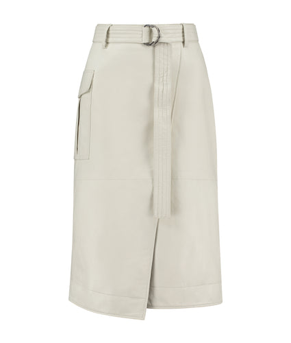 Echo Parc Skirt White stone