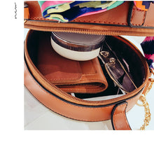 Load image into Gallery viewer, Straw Beach Bag / Shoulder Bag / Messenger cross body bag