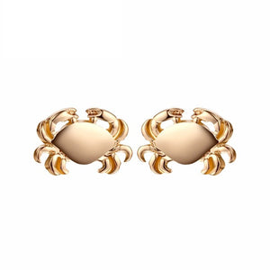 Crab Earrings - Necklace - Ring