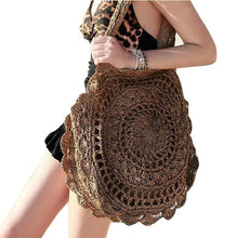 Load image into Gallery viewer, Bohemian Handmade Kintted Travel Bags
