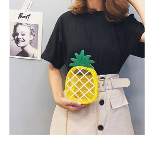 Pineapple  Messenger Bag