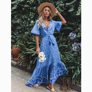 Frieda Boho Maxi Dress
