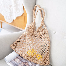 Load image into Gallery viewer, Hand Nets Woven Bag