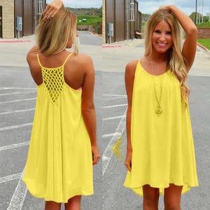 Women beach dress fluorescence