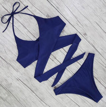Load image into Gallery viewer, Sexy Criss Cross Bikini Bandage Brazilian Swimsuit