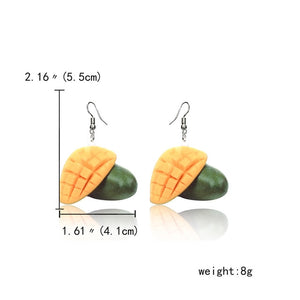 Tropical Fruit Earrings