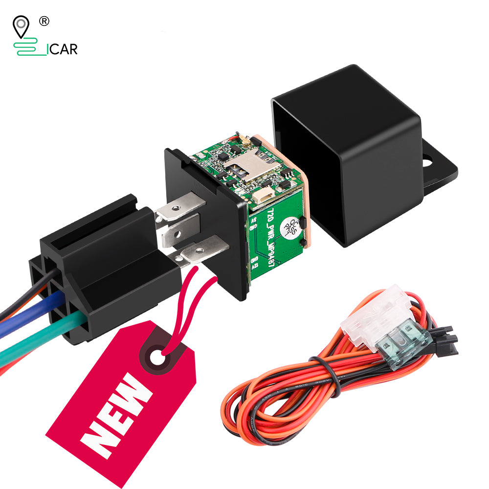 How to set up your IK720 Relay GPS Tracker?