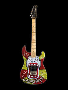 Hand Painted Freekshow Guitar - One per show!