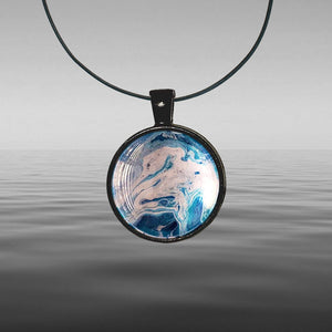 Open image in slideshow, Chris Painted Maraetai Round Necklace