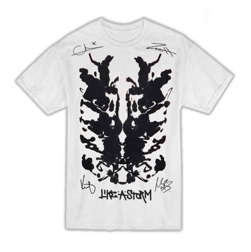 Tour Painted and Signed Rorschach Tee