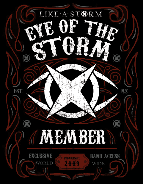 Exclusive Eye Of the Storm Member Hoodie