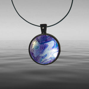 Open image in slideshow, Chris Painted Tekapo Round Necklace