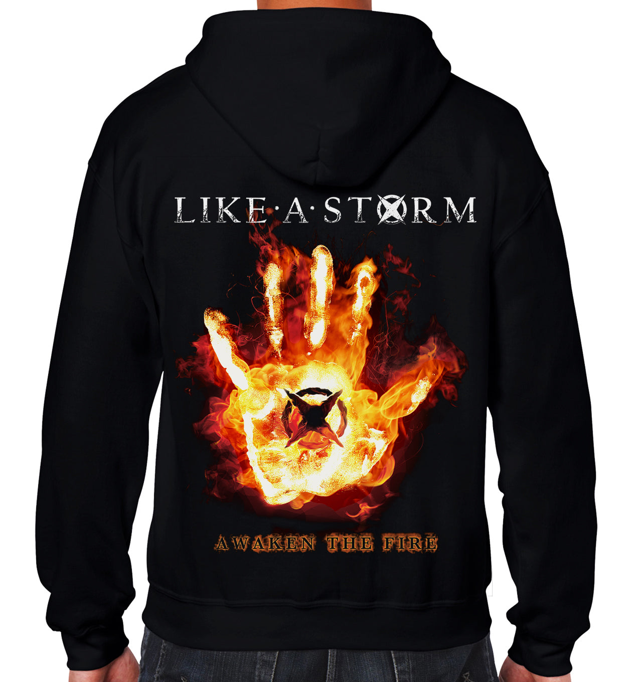 Awaken The Fire Lightweight Zip Hoodie - FREE SHIPPING!