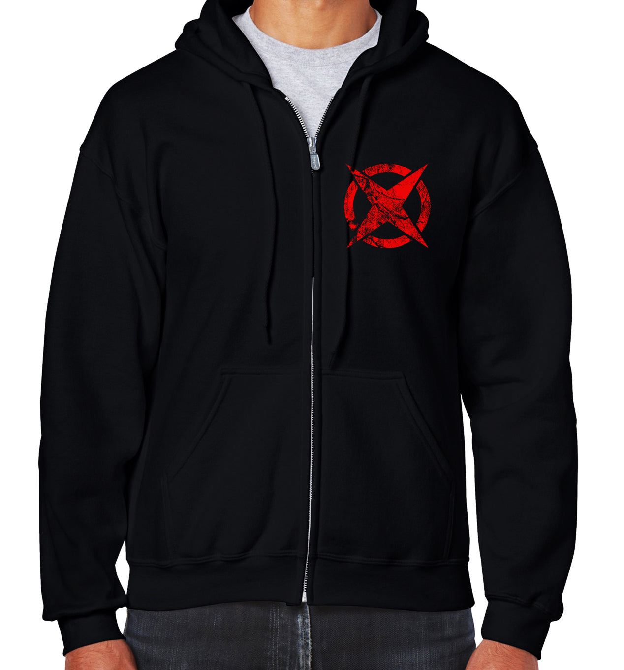 The Devil Inside Lightweight Zip Hoodie - FREE SHIPPING!
