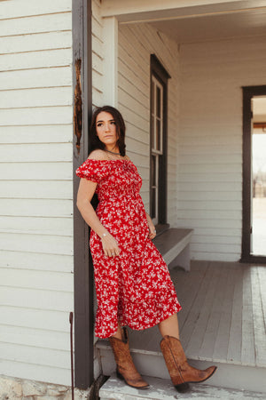 The Daisy Off Shoulder Dress