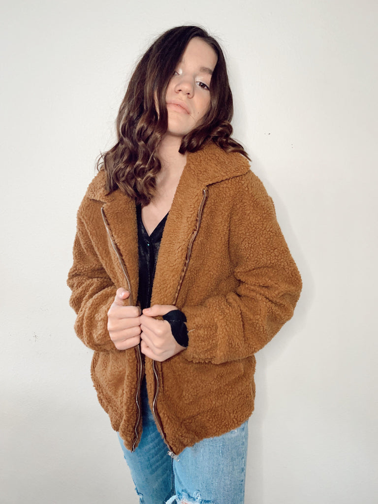 The Colette Teddy Jacket