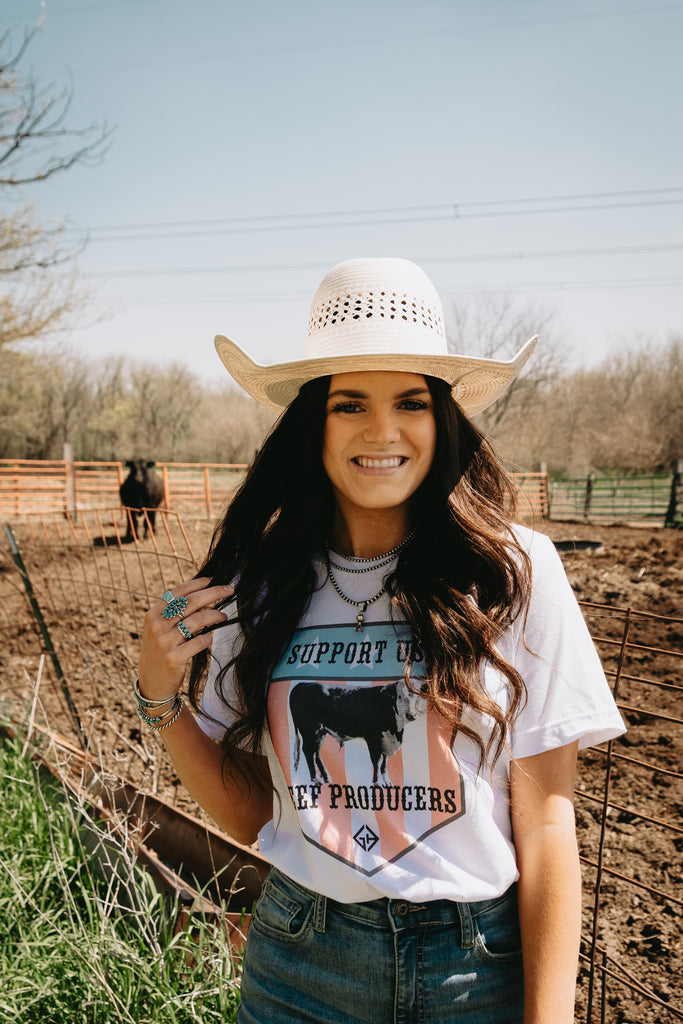 Support USA Beef Producers Tee
