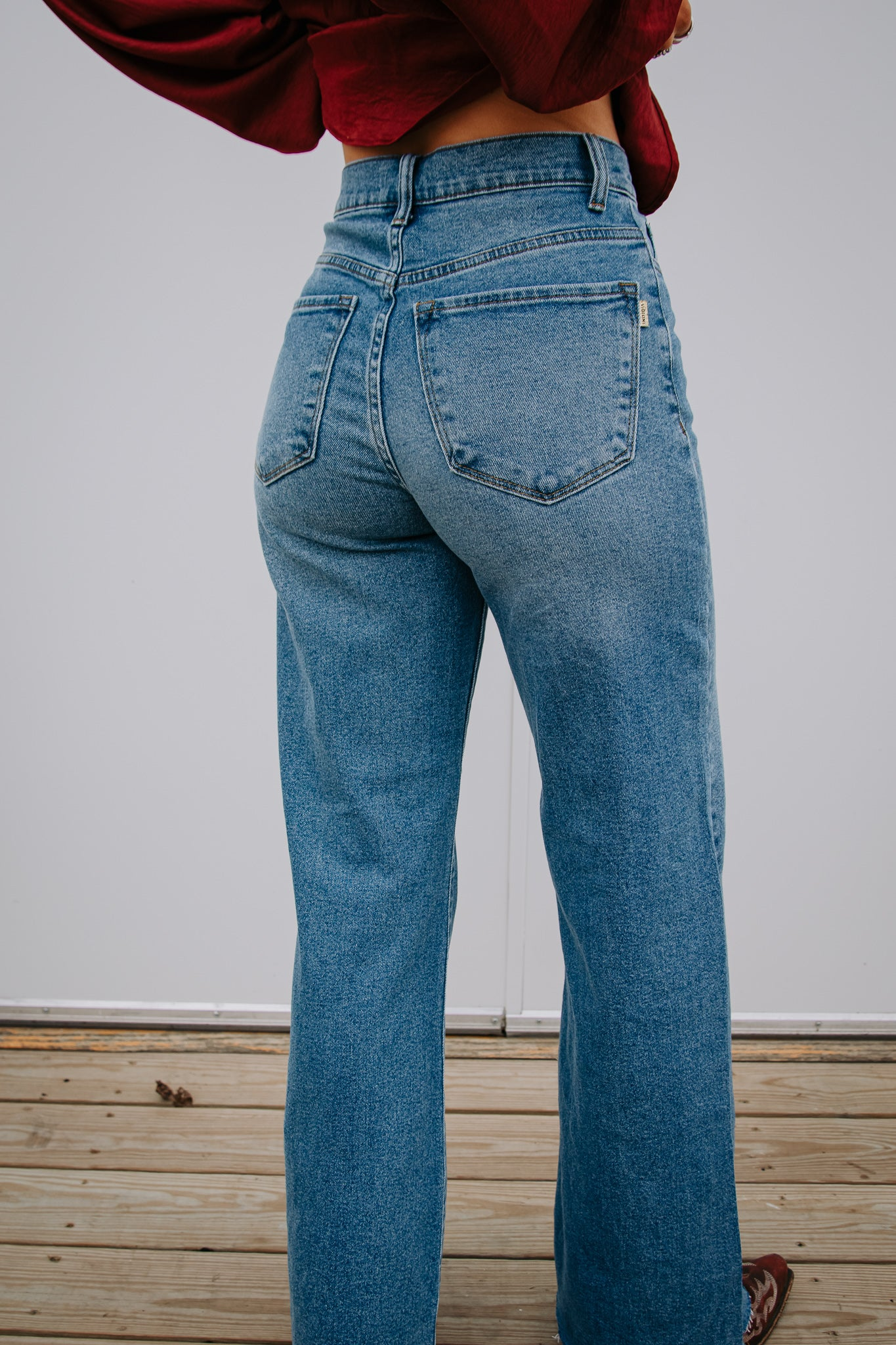 The Rio Wide Leg Jean