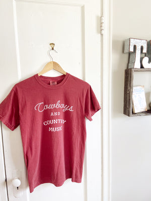 Cowboys and Country Music Tee