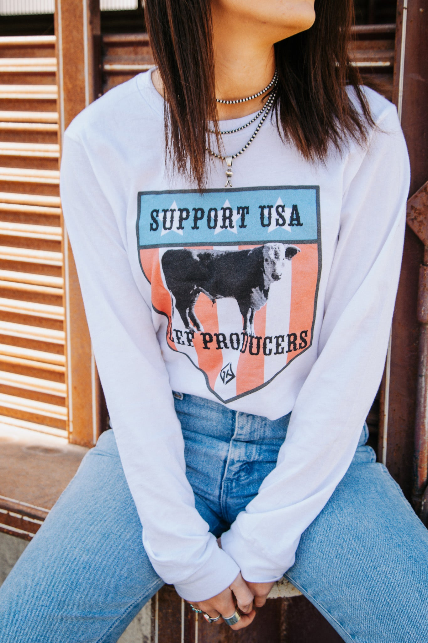Support Beef Producers Long Sleeve