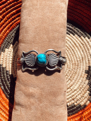 The Julia Turquoise Cuff