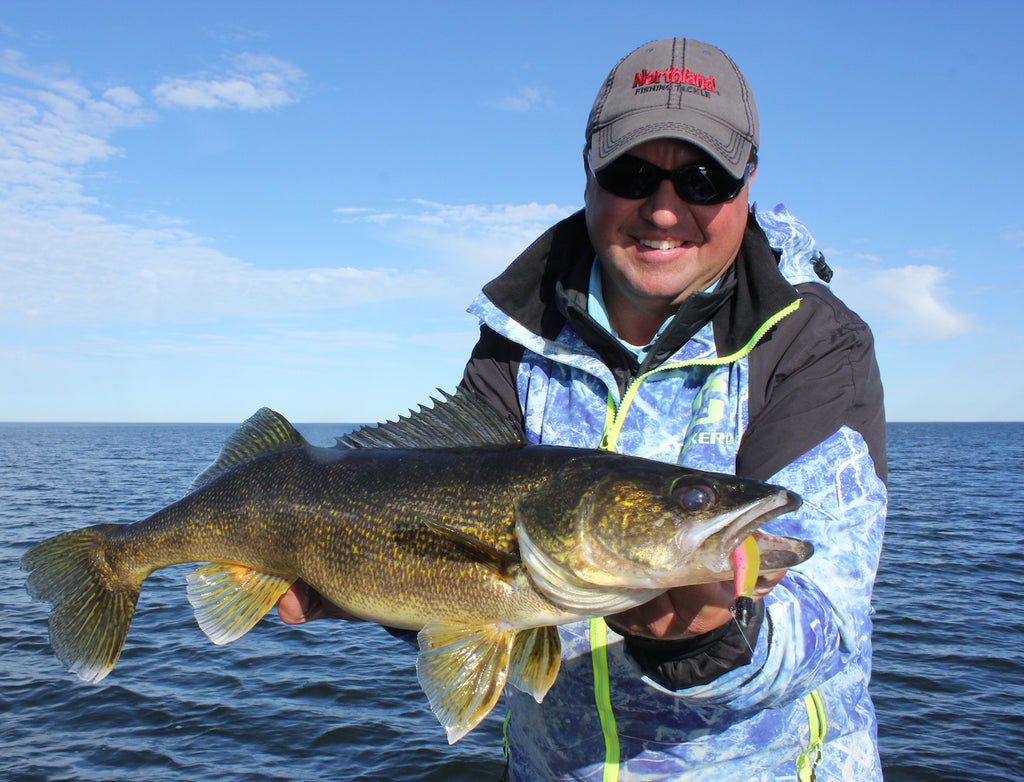 Finding New-Water Walleyes Fast by Matt Straw