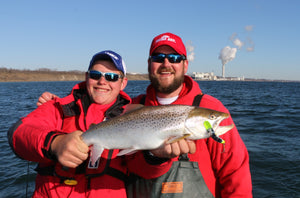 The Great Lakes Best Brown Trout Ports by Mark Romanack (Fishing 411 TV)